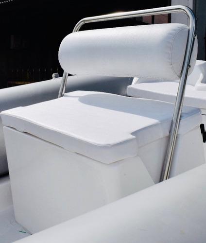semirrigido pampa 490 con motor yamaha 60hp 4t 0km nautica