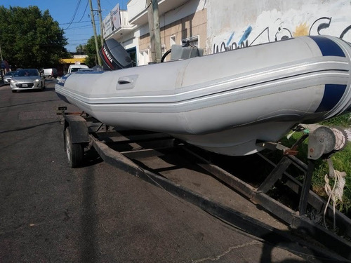 semirrígido sail master 4,80 con yamaha 60hp