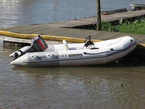 semirrígido sailmaster 4,10 motor yamaha enduro 40 + trailer