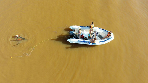 semirrigido sea runner 460 pescador con suzuki 40 2t 2020