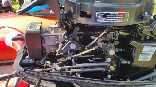 semirrigido usado con motor 40 hp