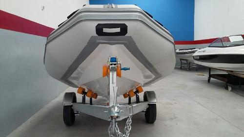 semirrigido viking 4,9 mts con mercury 50 hp 4 tiempos  full