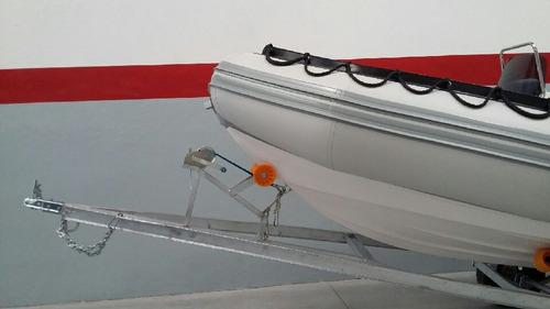 semirrigido viking 4,9 mts con mercury 60 hp 4 tiempos  full