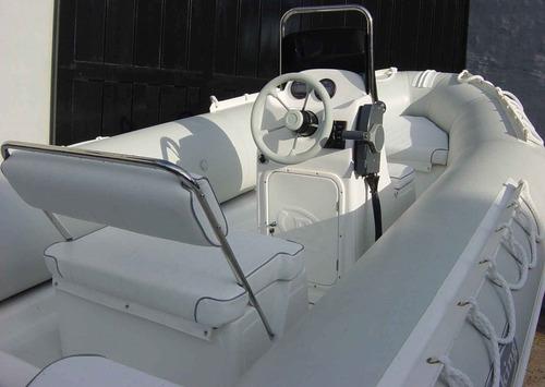 semirrigido viking 490 matrizado con motor yamaha 40 hp
