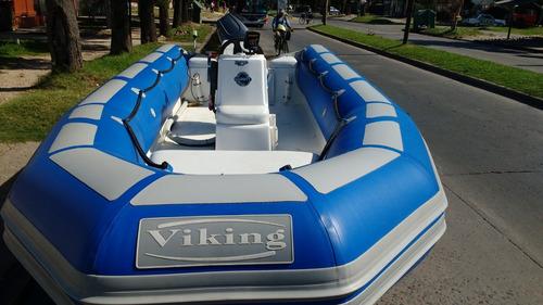 semirrigido viking 520 con motor yamaha 40 hp nuevos full