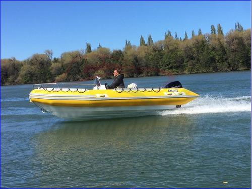 semirrigido viking excel plus 520 con motor mercury 40 hp