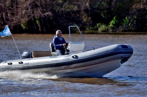 semirrigido z6 6 mts eslora yamaha 115 hp