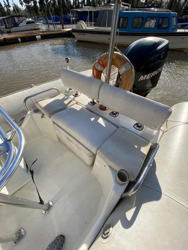 semirrígido zodiac pro open 650. motor mercury verado 150 hp