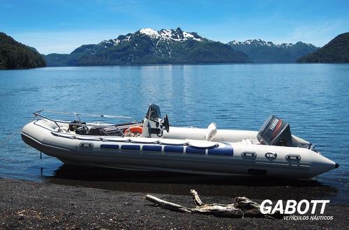 semirrigidos kiel 560 con motor yamaha 115 hp 4t gabott