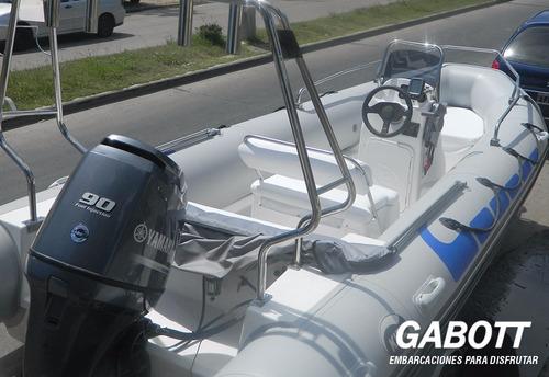 semirrigidos kiel 560 con motor yamaha 70 hp full gabott