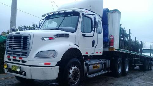 semitrailer freightliner m2-112 - incluye carreta-operativo