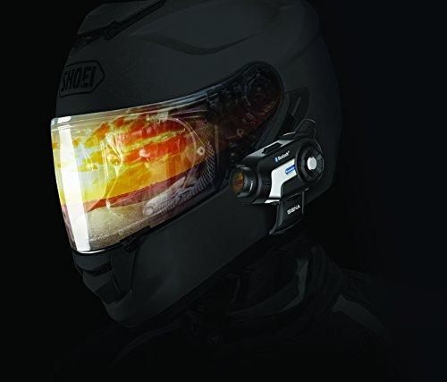 sena c 10-01 motocicleta bluetooth cámara y sistema de