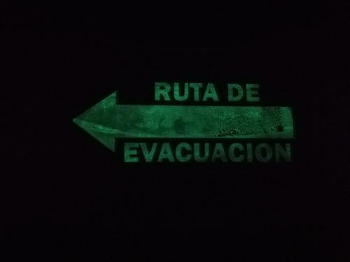 señal de seguridad evacuación extintor salida paq 37 piezas