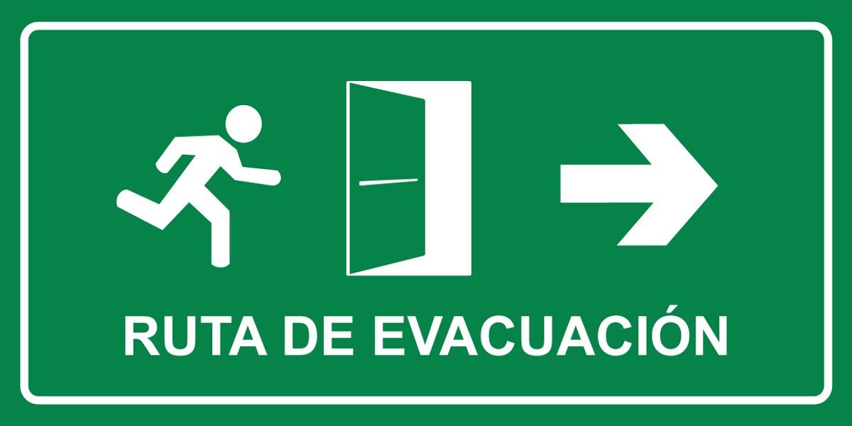 Se al salida de emergencia ruta de evacuaci n for Salida libre