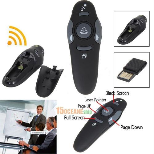 señalador cambia diapositivas usb slides powerpoint