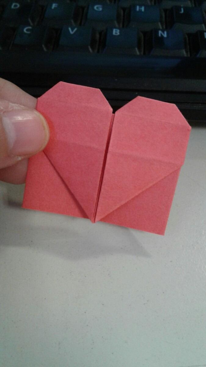 Senalador Origami Con Forma De Corazon 300 En Mercado Libre - Origami-corazn