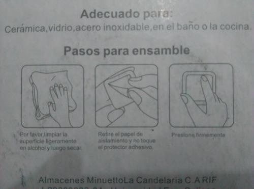 señales aviso de baño en acero inoxidable autoadhesivo 1trum