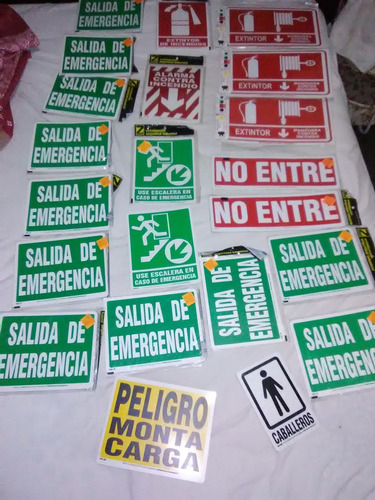 señales de seguridad (oferta)