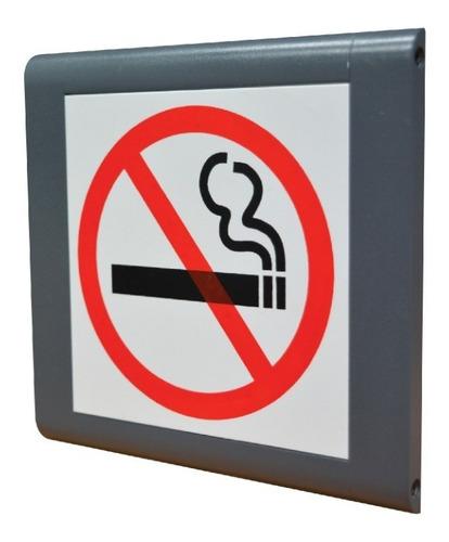 senalización prohibido fumar
