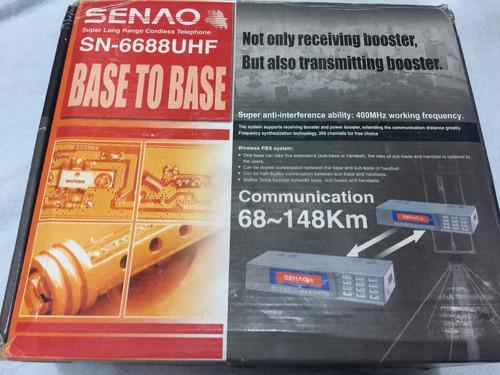 senao base a base teléfono sn/6688 uhf sin antenas
