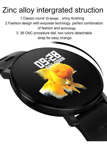 senbono k9 relógio inteligente de 1.30 polegadas ips display