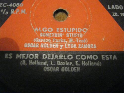 sencillo oscar golden  -lida zamora-ljp