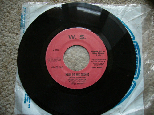 sencillo w.s. wilmer sotomayor disco 1995