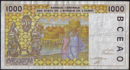senegal, 1000 francs 1991 p711ka
