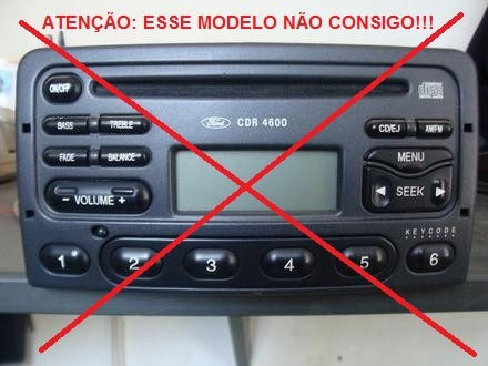 senha codigo radios originais fiat visteon connect mp3 stilo