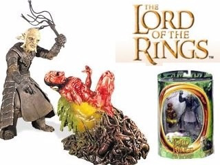 senhor dos aneis lord of the rings - orc overseer - toy biz