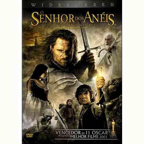 senhor dos anéis o retorno do rei : 11 oscar dvd original
