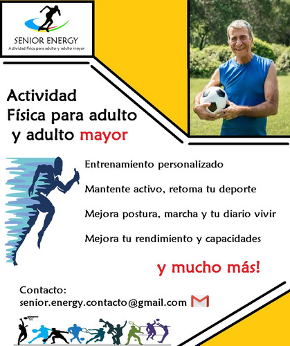 senior energy  actividad física para adultos