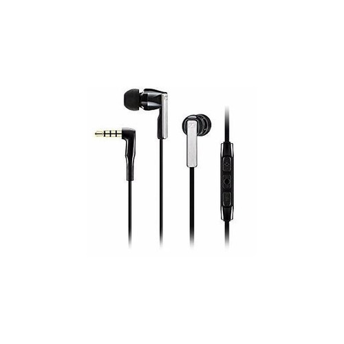 sennheiser audífono cx 5.00i iphone ipad y ipod negro 12ctas