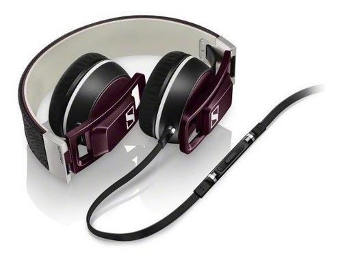 sennheiser audifonos urbanite morado para iphone/ipad/ipod