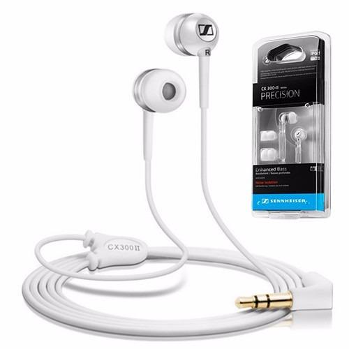sennheiser cx300 2 auricular in ear para iphone samsung lg