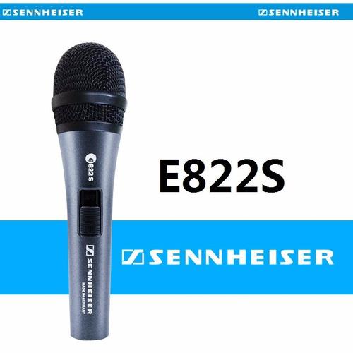 sennheiser e822 s microfono de mano profesional super oferta