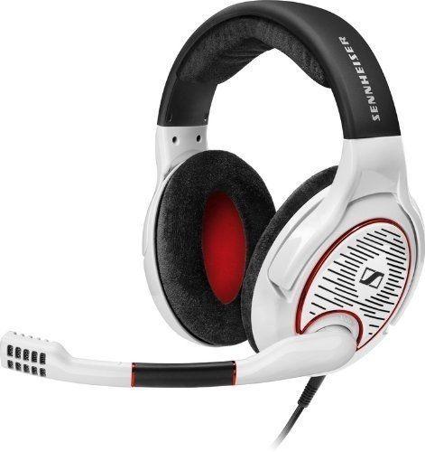sennheiser - headset gamer - game one white - pronta entrega