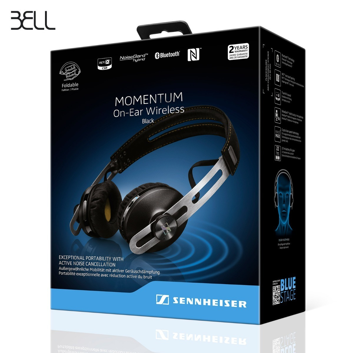 f9f068d917f Sennheiser Momentum On-ear Wireless - $ 5,549.00 en Mercado Libre