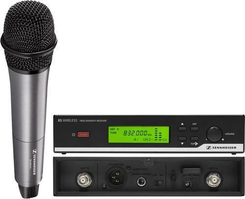 sennheiser xsw 35 micrófono uhf profesiónal inalambrico