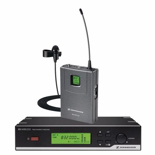 sennheiser xsw12 microfono inalambrico corbatero solapa uhf