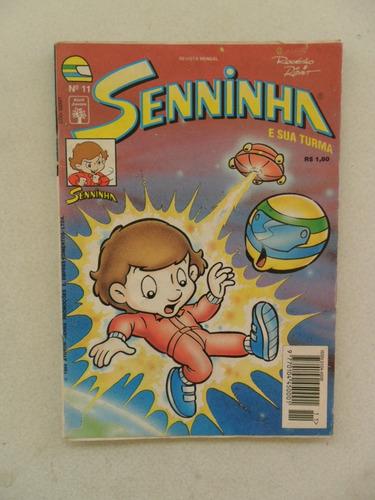 senninha nº 11! editora abril! nov 1994!