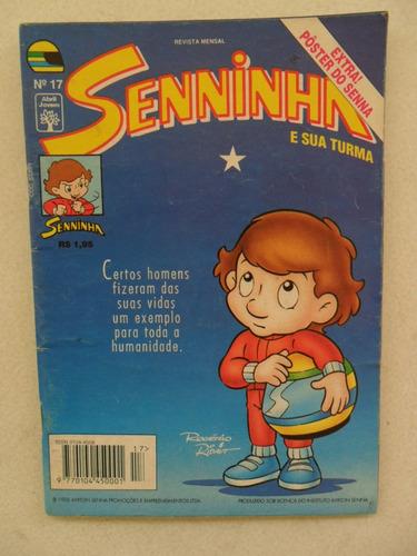 senninha nº 16! editora abril! abril 1995! leia o anúncio!