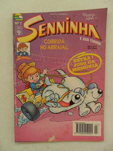 senninha nº 7! editora abril! jul 1994!