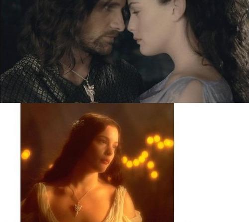 señor de los anillos collar  wizard princess evening