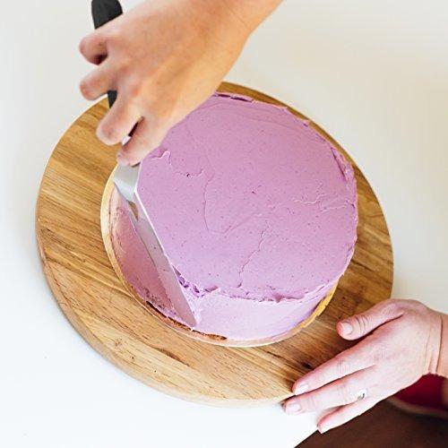 señora. juego de espatula para decorar pasteles de glaseado