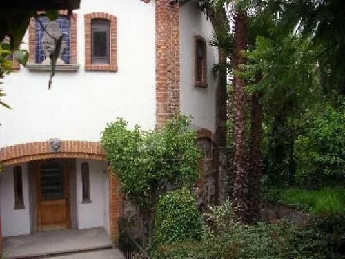 señorial residencia tipo colonial en venta en rivera del atoyac, puebla.