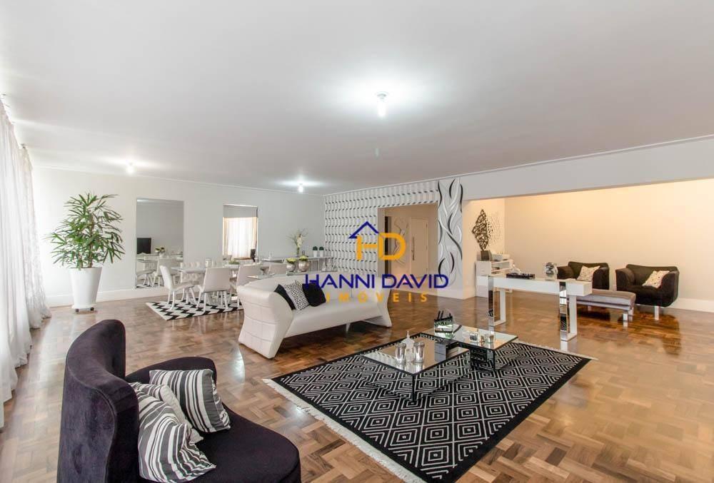 sensacional apartamento à venda em higienópolis mobiliado com 3 suítes, 3 vagas - 277,54 m² - amplo lazer e ótima localização - ap2844