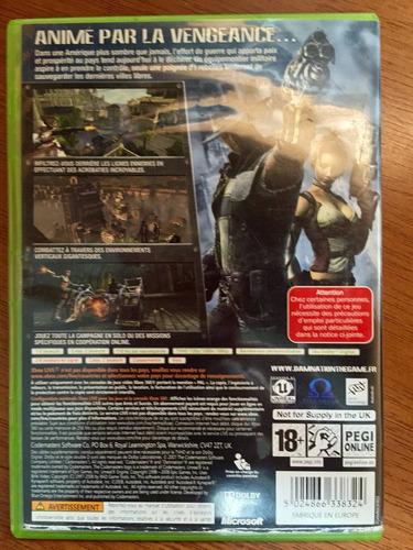 sensacional jogo damnation xbox360 / xbox livr