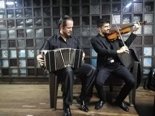 sensacional show virtual de tango con músicos argentinos