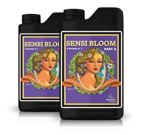 sensi bloom  part a + part b advanced nutrients 500 ml